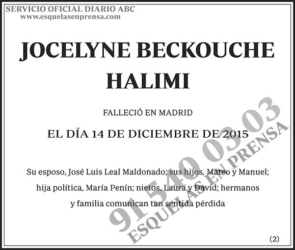 Jocelyne Beckouche Halimi